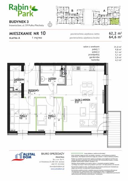 Mieszkanie A10