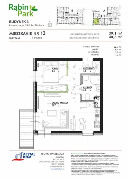 Mieszkanie A13