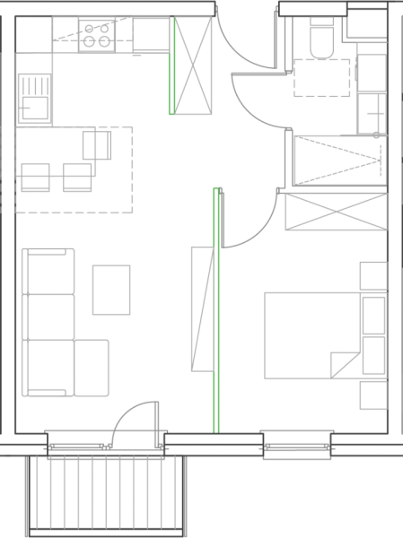 Mieszkanie B12
