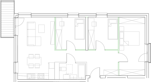 Mieszkanie B15