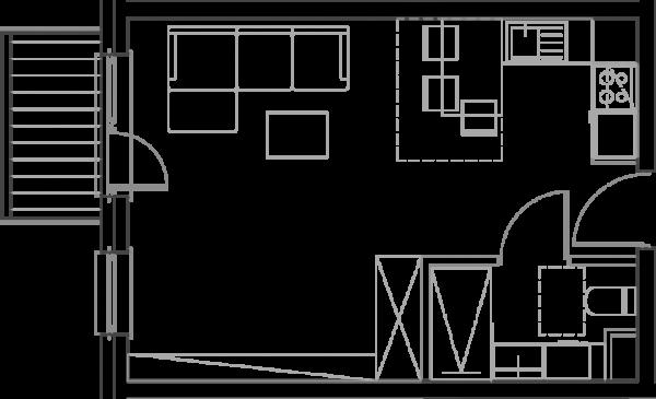 Mieszkanie B16