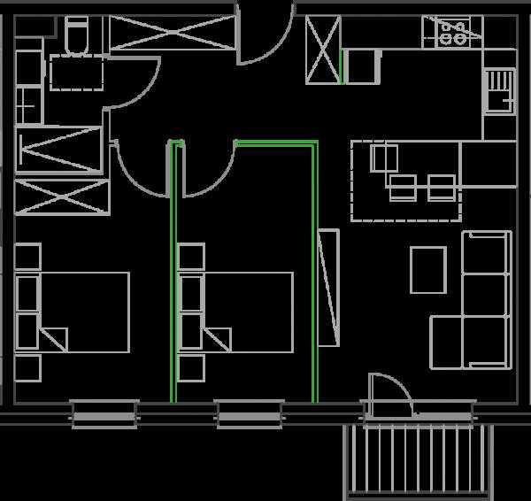 Mieszkanie B18
