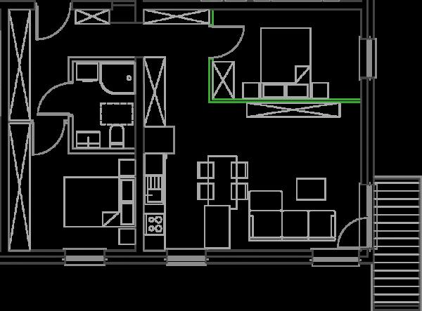 Mieszkanie B19