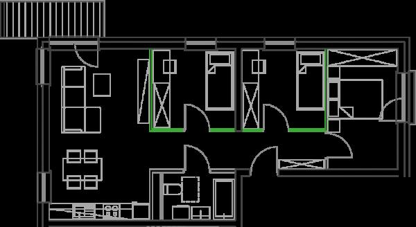 Mieszkanie B1