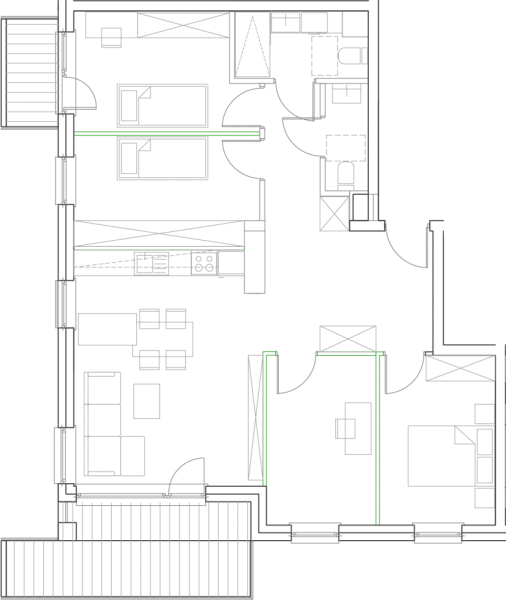Mieszkanie B22