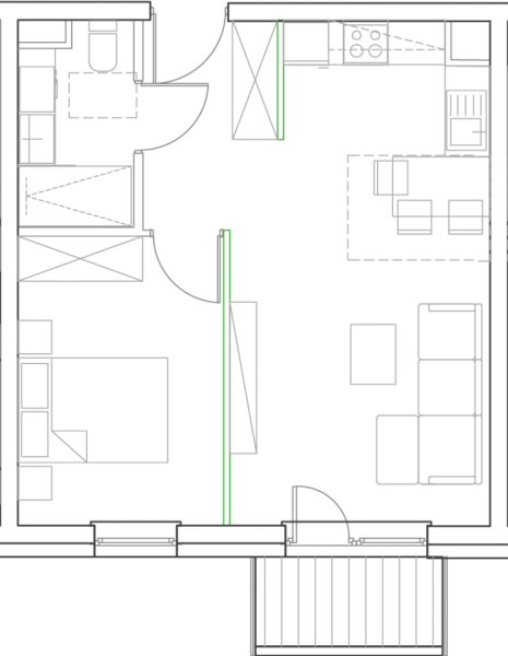 Mieszkanie B4