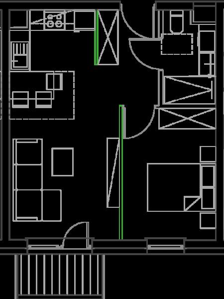 Mieszkanie B5