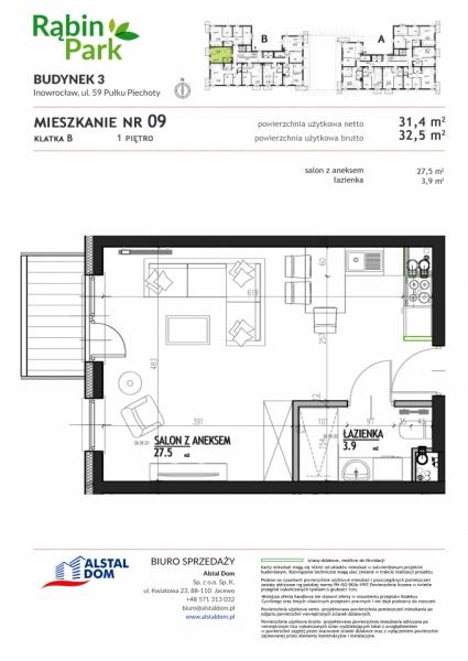 Mieszkanie B9