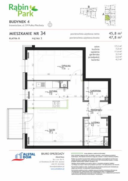 Mieszkanie M34A